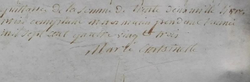 Autographe Marie Antoinette Antoin10