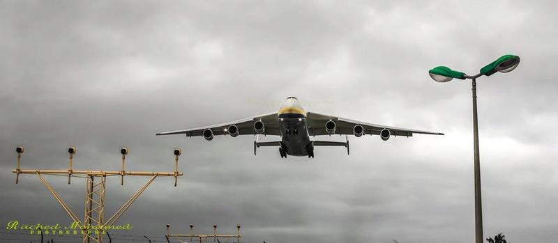 أكبر طائرة في العالم Antonov An-225 Mriya في مهمة جديدة  10338710