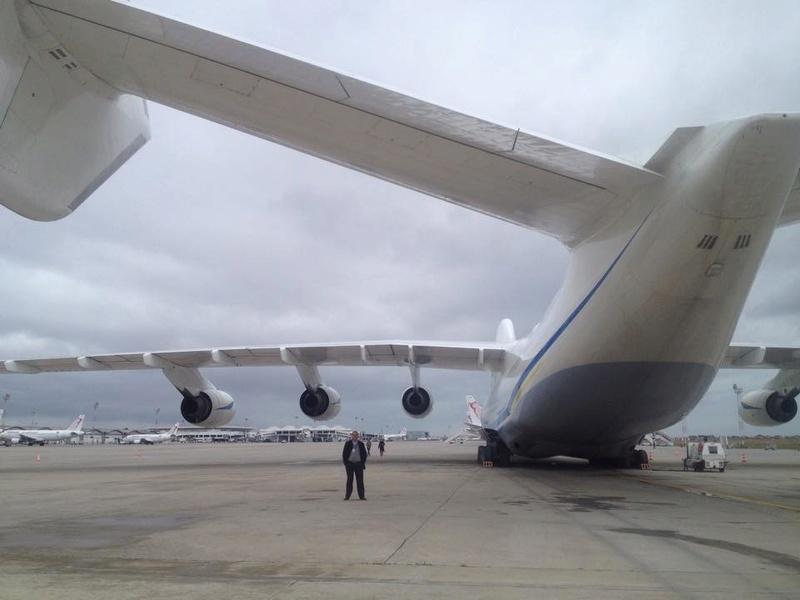 أكبر طائرة في العالم Antonov An-225 Mriya في مهمة جديدة  10953110
