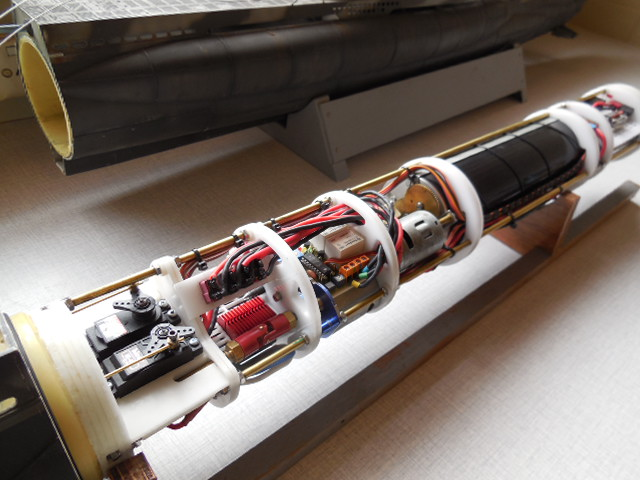 Laser cut Robbe U47 conversion Uboat_14