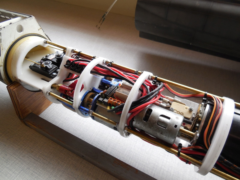 Laser cut Robbe U47 conversion Uboat_16