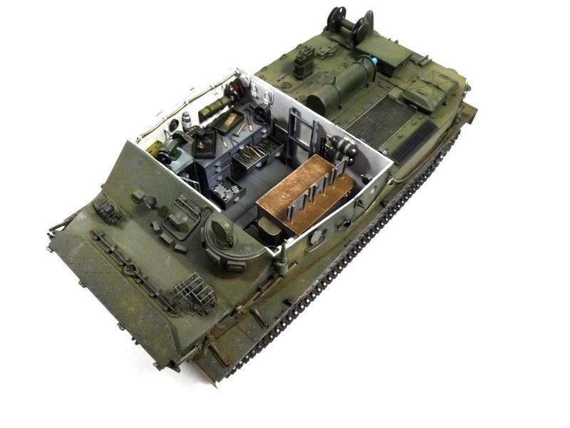 Машина технической помощи МТП на базе БТР-50 0010