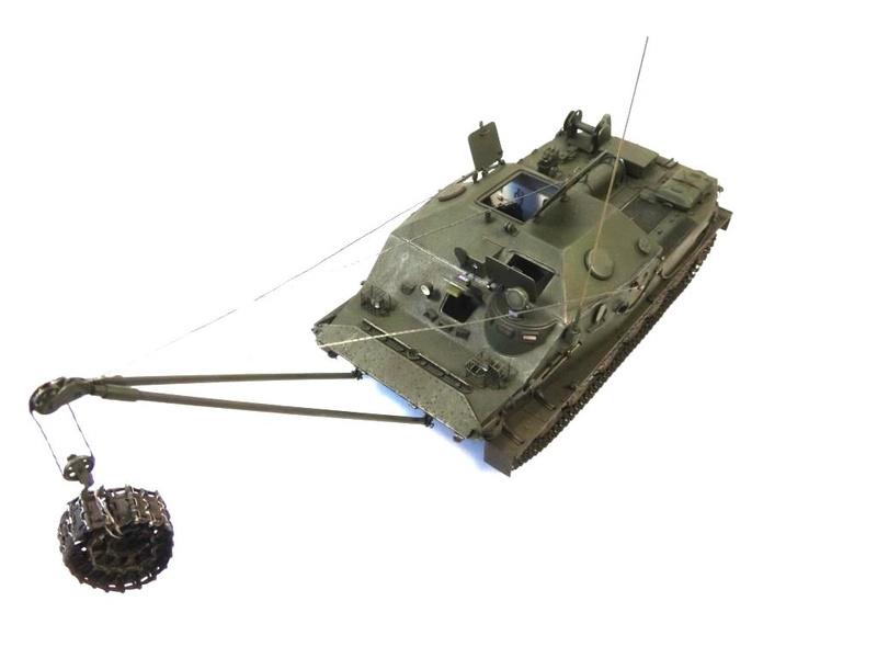 Машина технической помощи МТП на базе БТР-50 0110