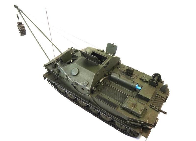 Машина технической помощи МТП на базе БТР-50 0310