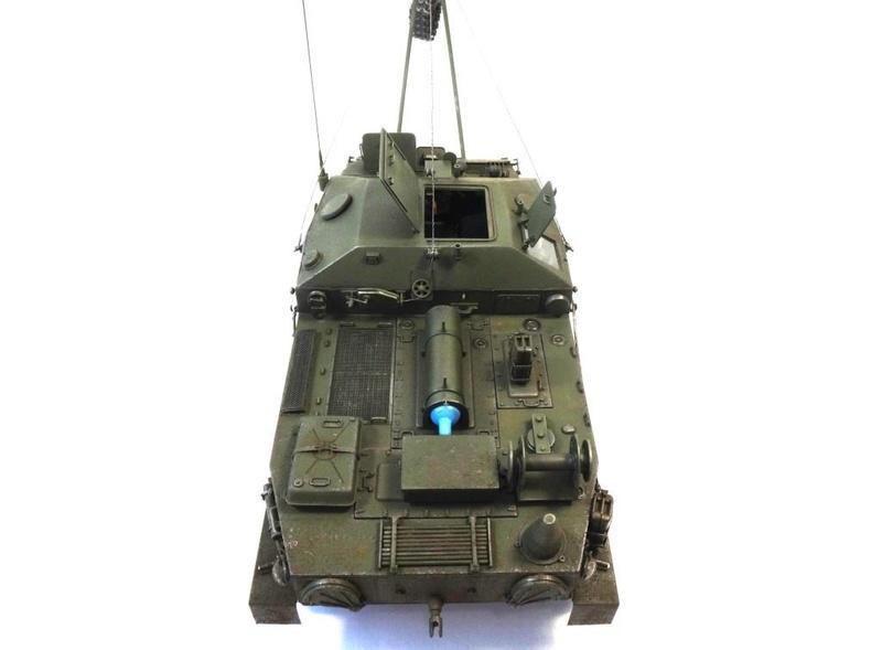 Машина технической помощи МТП на базе БТР-50 0410