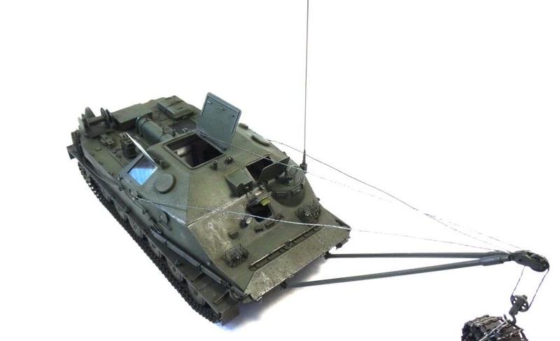 Машина технической помощи МТП на базе БТР-50 0710