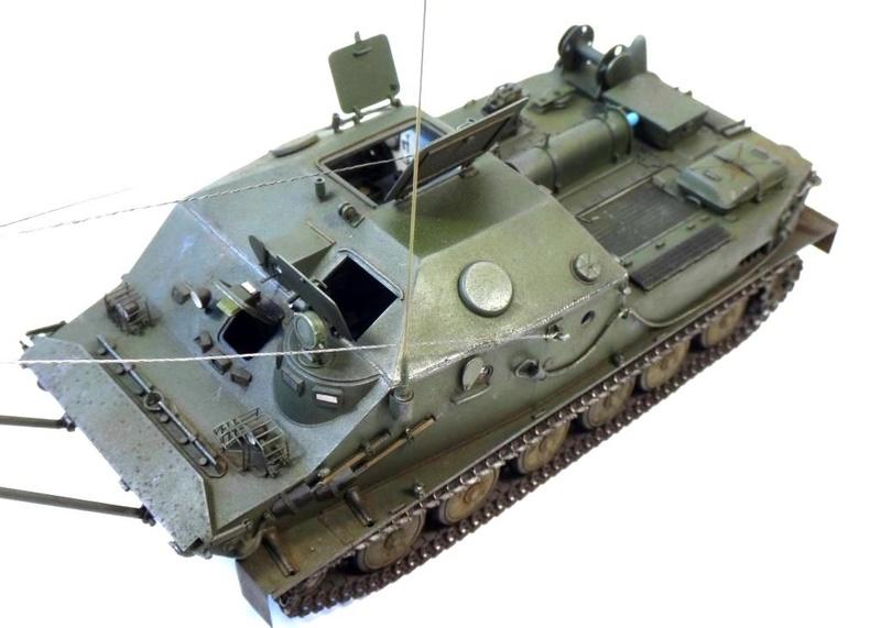 Машина технической помощи МТП на базе БТР-50 0810