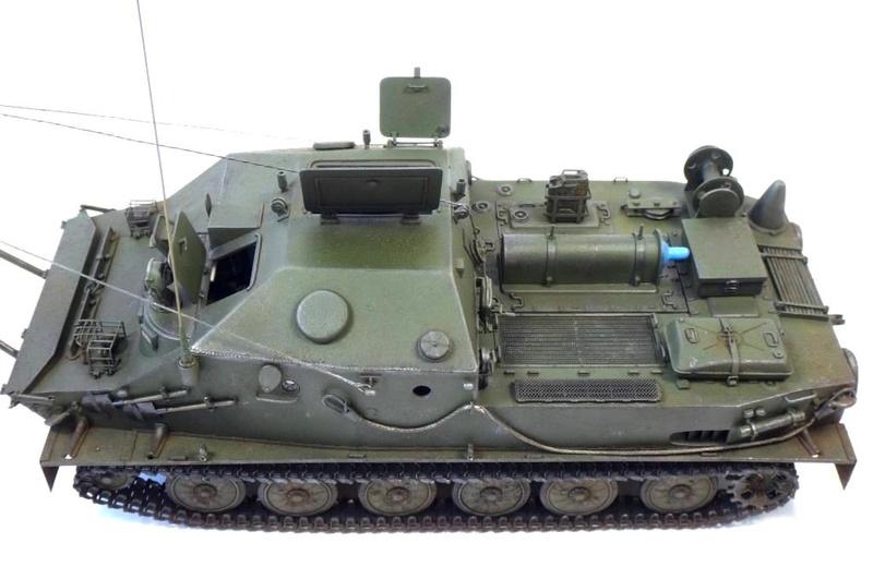 Машина технической помощи МТП на базе БТР-50 0910