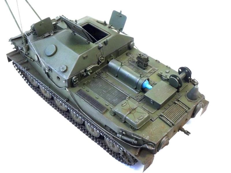 Машина технической помощи МТП на базе БТР-50 1010