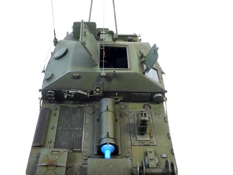 Машина технической помощи МТП на базе БТР-50 1110