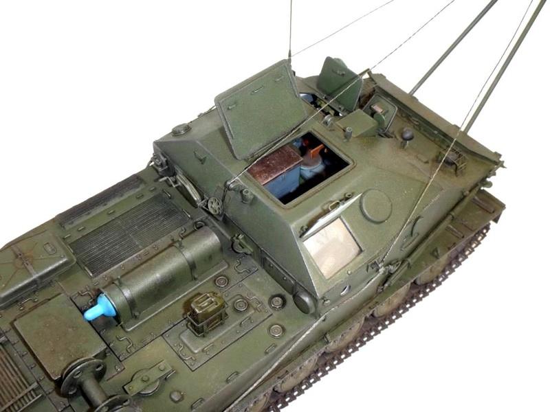 Машина технической помощи МТП на базе БТР-50 1210