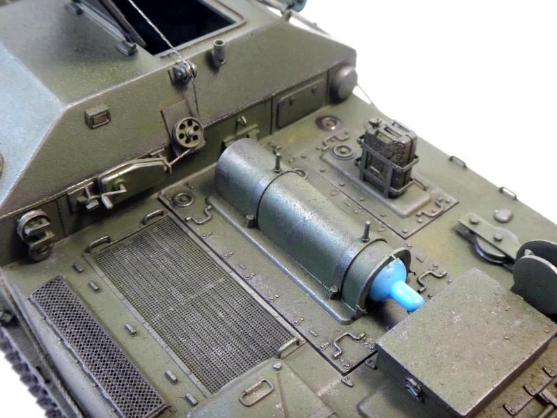 Машина технической помощи МТП на базе БТР-50 1410