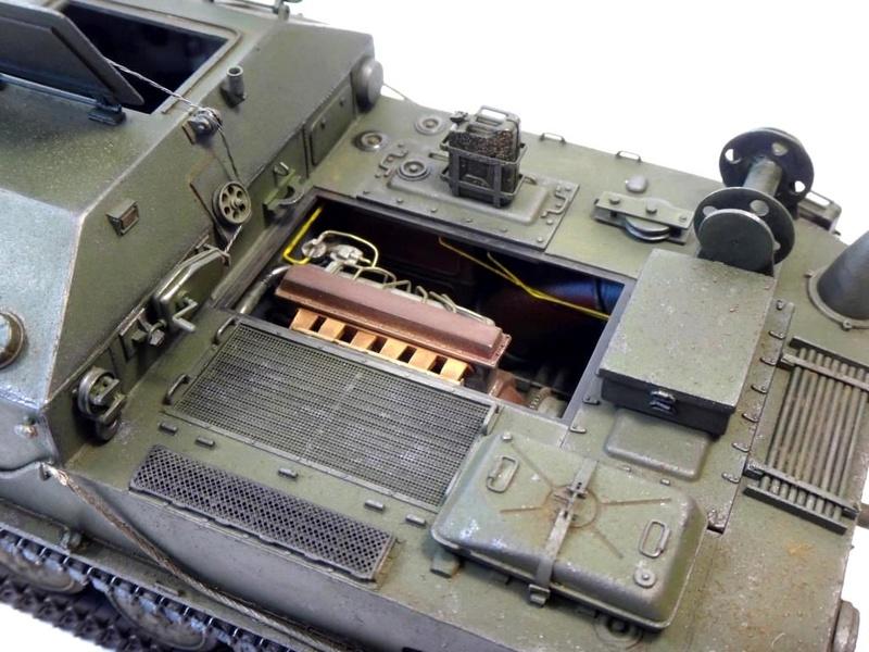 Машина технической помощи МТП на базе БТР-50 1510