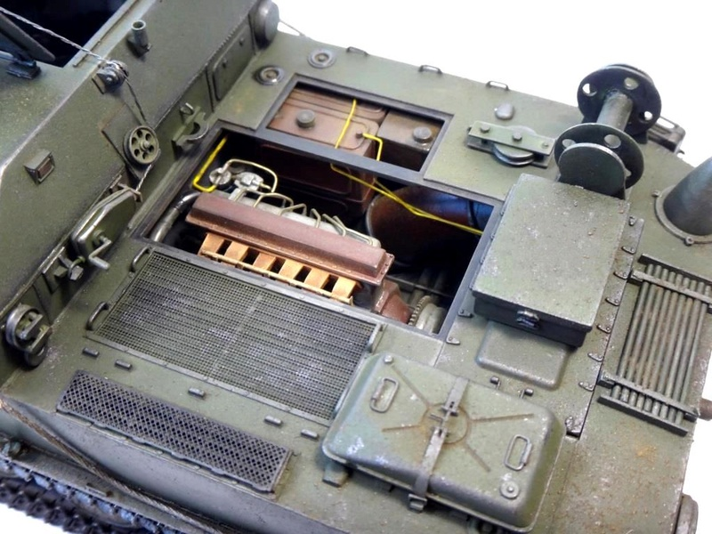 Машина технической помощи МТП на базе БТР-50 1610