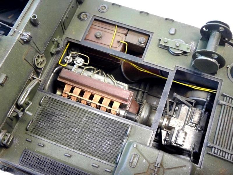 Машина технической помощи МТП на базе БТР-50 1710