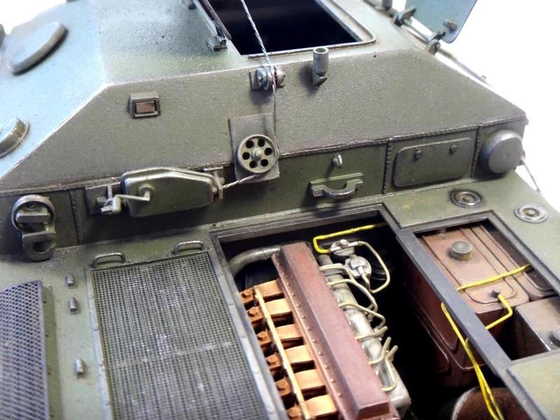 Машина технической помощи МТП на базе БТР-50 1810