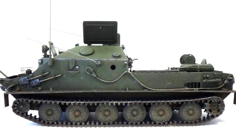 Машина технической помощи МТП на базе БТР-50 2010