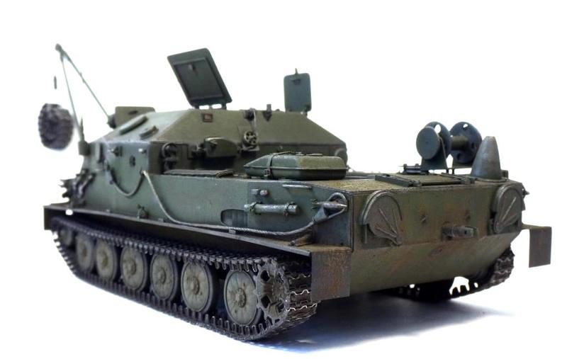 Машина технической помощи МТП на базе БТР-50 2110