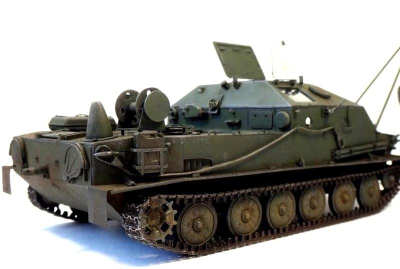 Машина технической помощи МТП на базе БТР-50 2310