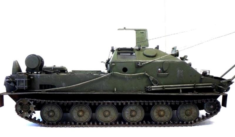 Машина технической помощи МТП на базе БТР-50 2410