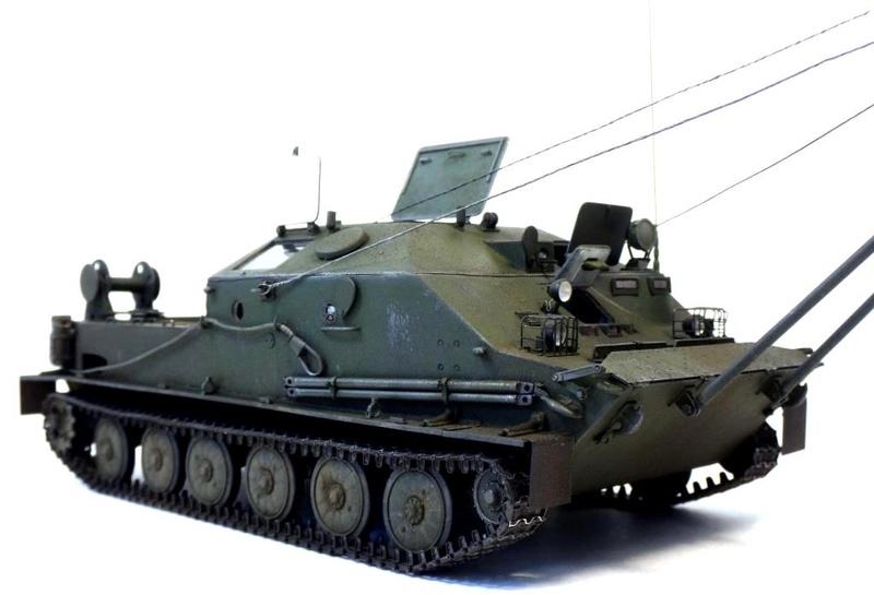 Машина технической помощи МТП на базе БТР-50 2510