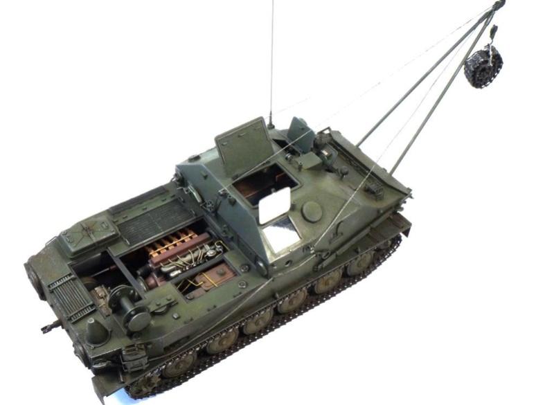 Машина технической помощи МТП на базе БТР-50 2610