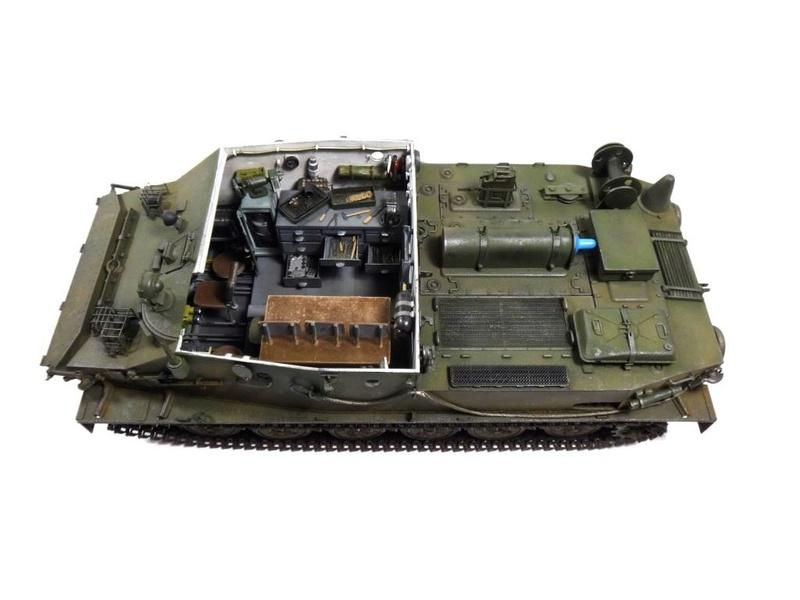 Машина технической помощи МТП на базе БТР-50 2710