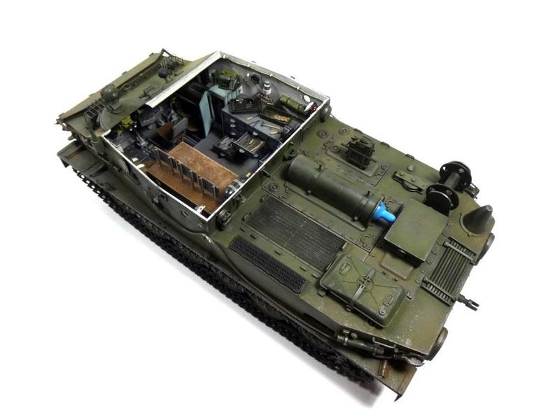 Машина технической помощи МТП на базе БТР-50 2810