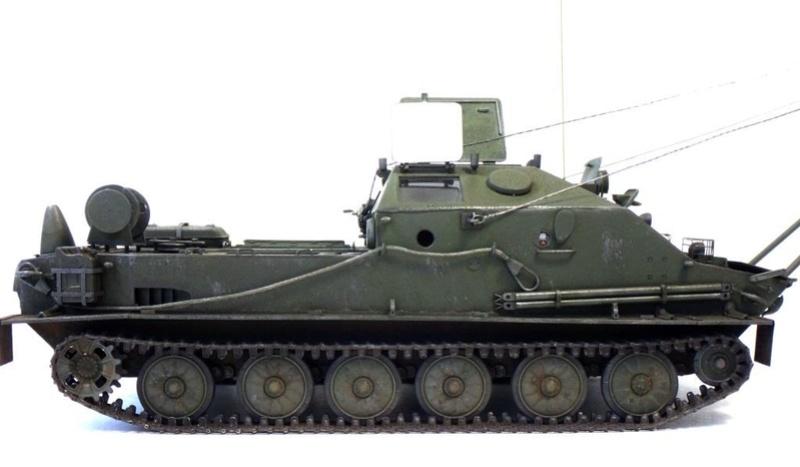 МТП на базе БТР-50ПК ГОТОВО - Страница 6 Dsc01219