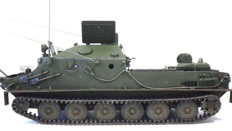 МТП на базе БТР-50ПК ГОТОВО - Страница 6 Dsc01222