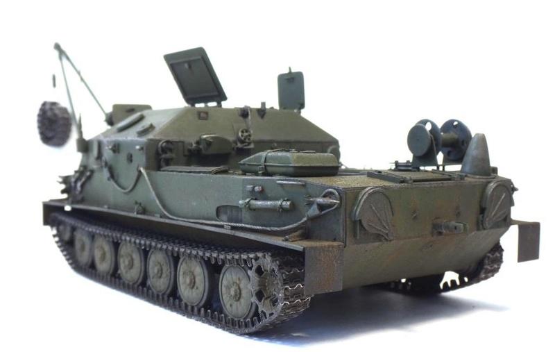 МТП на базе БТР-50ПК ГОТОВО - Страница 6 Dsc01223
