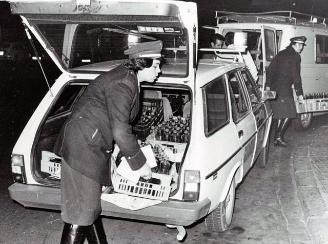 La policia uso Derbi Antorcha  Bcn00011