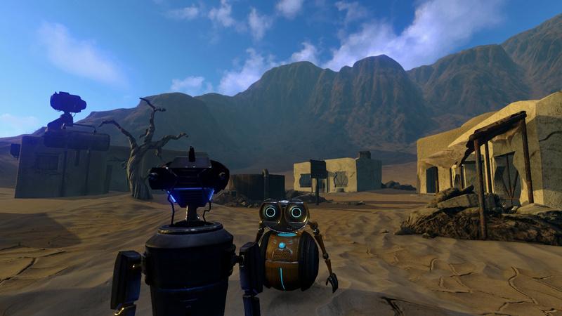 [Jeu Vidéo] Phoning Home : Le WALL.E du jeu vidéo ! Screen10