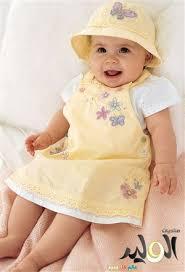 ملابس صيفية للرضع بناتى 613