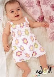 ملابس صيفية للرضع بناتى 814