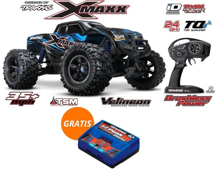 X MAXX 6S + Chargeur Traxxas EZ-Peak Dual 8A à 889,95€ !!  Traxxa10