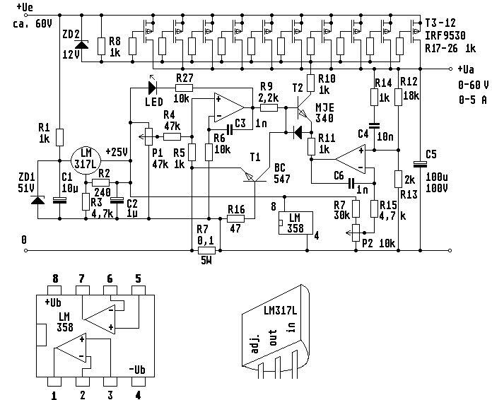 Scheme Surse Reglabile De Laborator 2hrh8x12