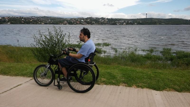 Handbike caseros para silla de ruedas  20160210