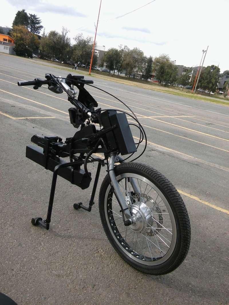 Handbike caseros para silla de ruedas  20170513