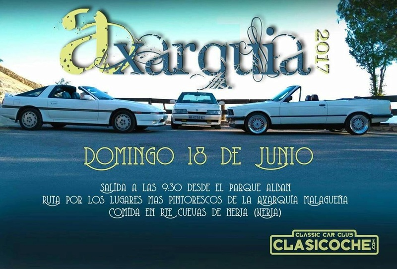 XXXVI RUTA OFICIAL CLASICOCHE: AXARQUÍA Cartel12