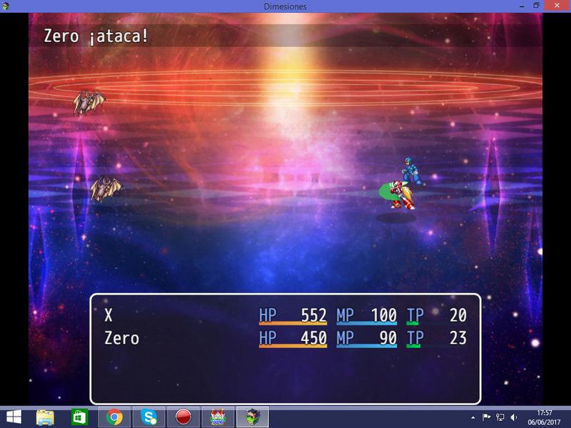 [MV] Sprites de batalla lateral de Megaman X y Zero Deskto11