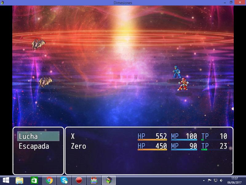[MV] Sprites de batalla lateral de Megaman X y Zero Deskto14