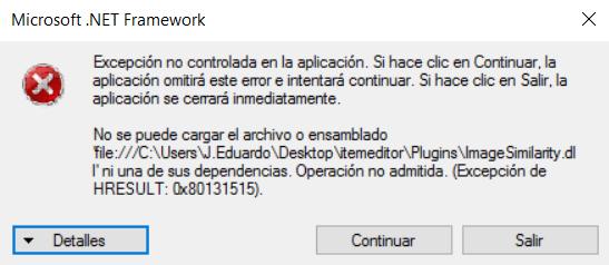 [Utilidad] Ot Item Editor (10.98) Erroro10