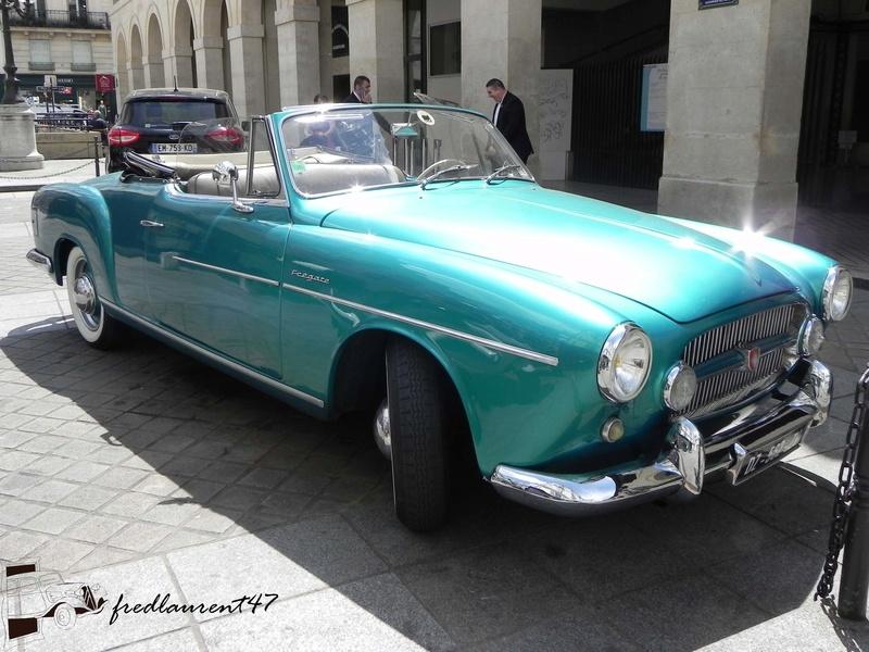 Renault Frégate Ondine Cabriolet 1953 par Ghia 1953_r11