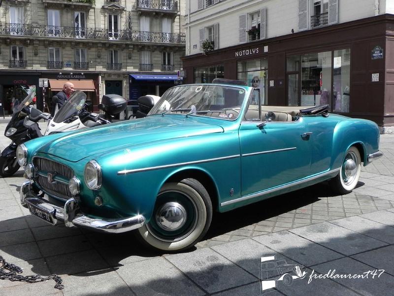 Renault Frégate Ondine Cabriolet 1953 par Ghia 1953_r12