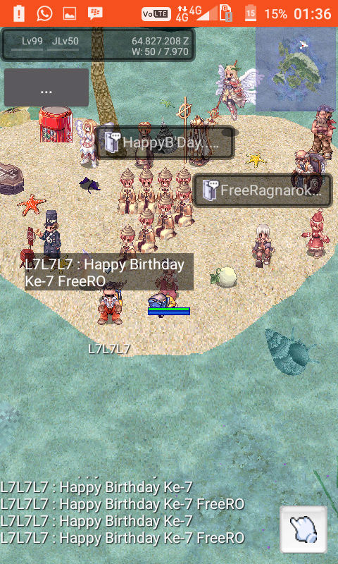 Event Screenshot Game FreeRO (Android) Screen10
