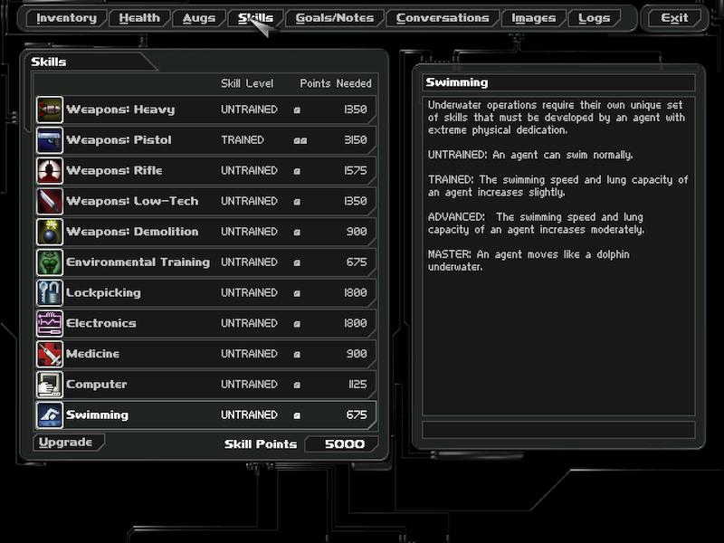 Deus Ex (2000) Skills10