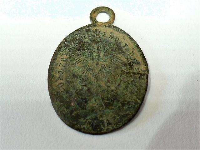 Medalla de nuestra señora de Guadalupe (Mexico). Con error en cuño P1020916