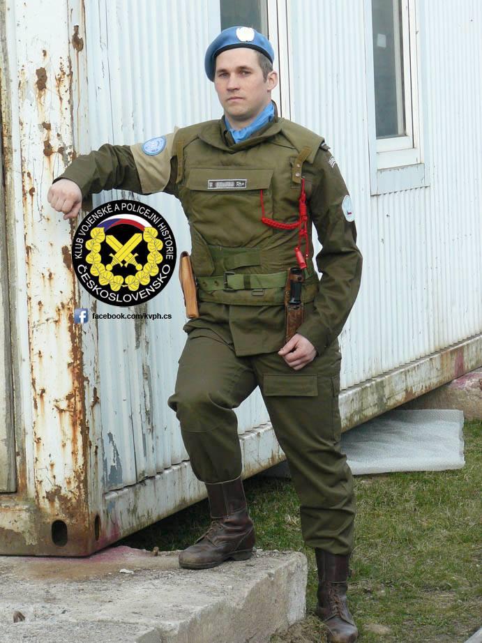 Bulletproof vest/Body armor used by Czechoslovakian/Czech forces in UNPROFOR mission 17498410