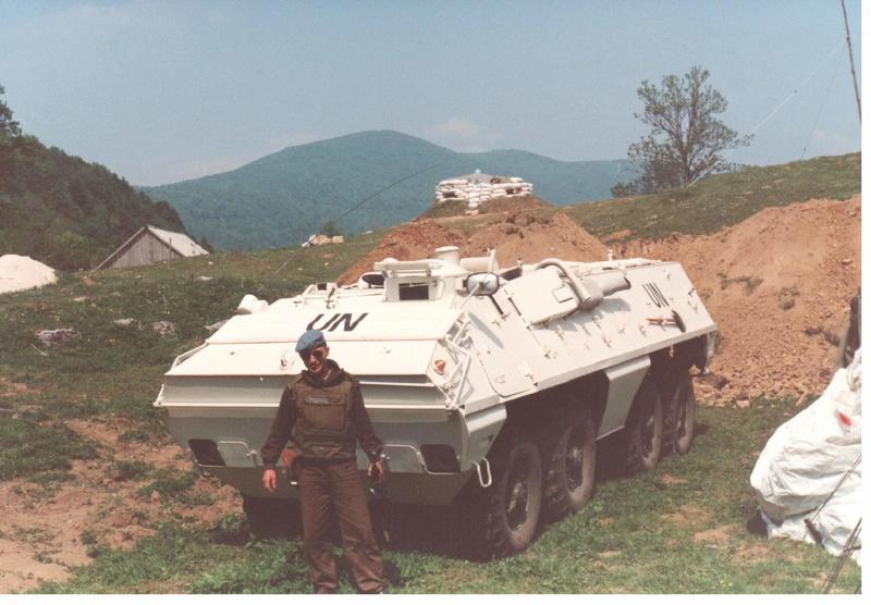 Bulletproof vest/Body armor used by Czechoslovakian/Czech forces in UNPROFOR mission 2610
